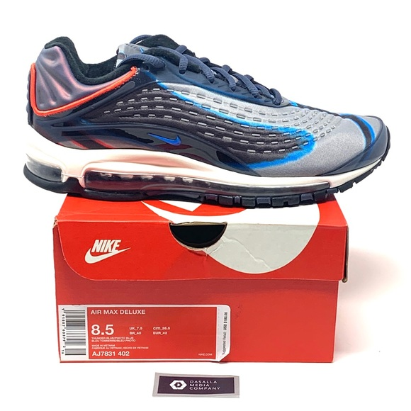"""Nike Other - Nike Airmax Deluxe """"Thunder Blue"""" Mens Shoes"""